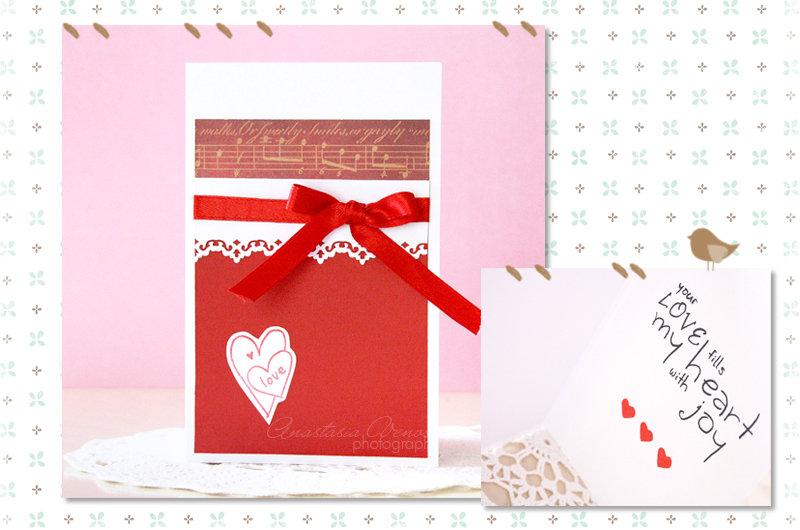 """Biglietto """"Sweet Valentine's day"""""""