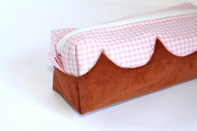 Portapenne grande/ trousse piccola - Pink