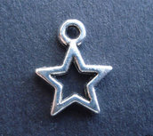 lotto 5 charms stella 1 cm