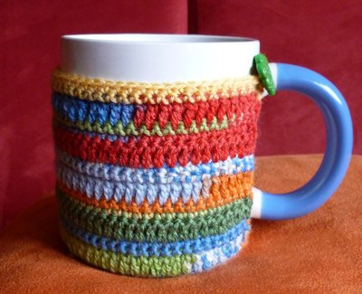Copritazza multicolore