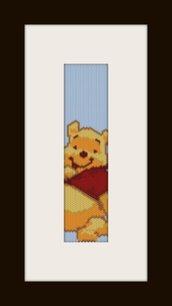 PDF schema bracciale winnie in stitch peyote pattern - solo per uso personale .