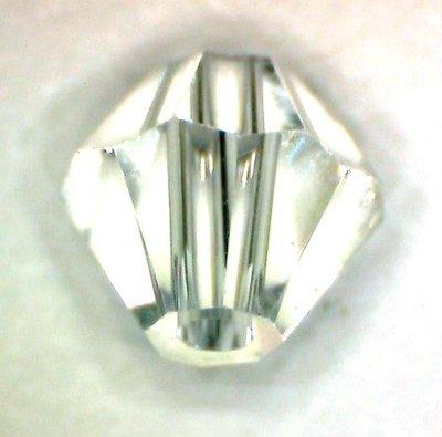 10 cristalli swarosky swarovski bianco AB 4 mm