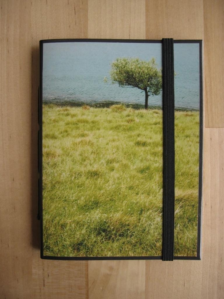 PAUSA PRANZO A URKULU - Taccuino con foto originale (Paesi Baschi) - Pocket size