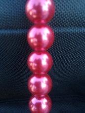 6 Perle in vetro cerato da 1 cm