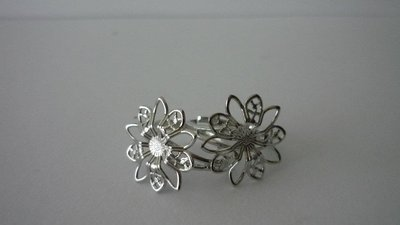 Base anello flower