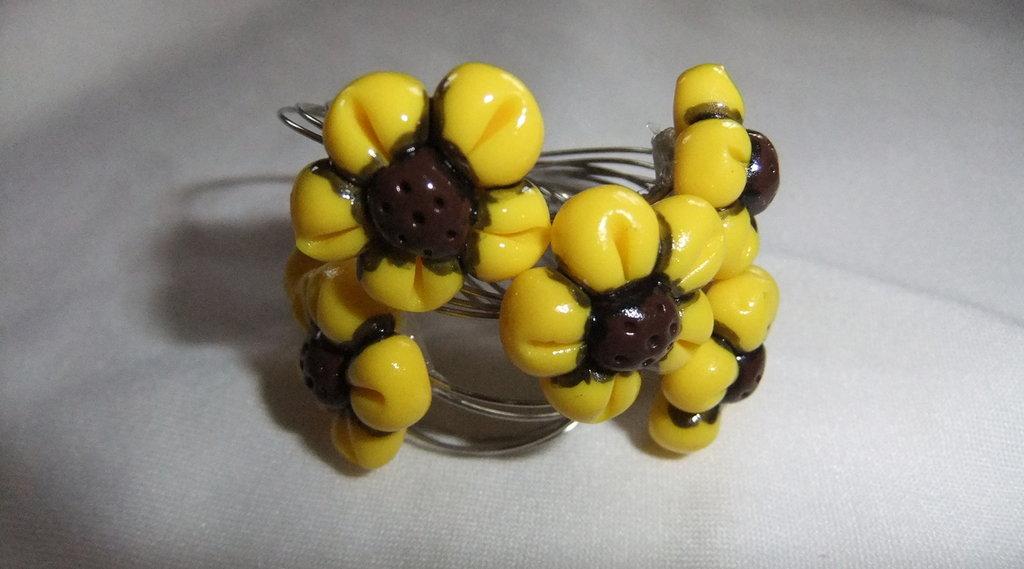 Set di 6 farmatovaglioli gialli