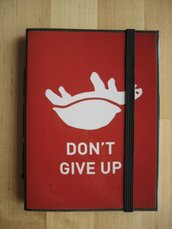 DON'T GIVE UP! - Taccuino con foto originale - Pocket size