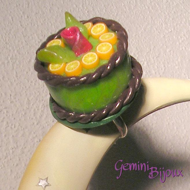 Anello Torta Verde