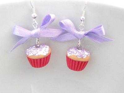 Cupcake - Orecchini in Fimo