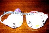 Elastico per capelli Hello Kitty Amigurumi