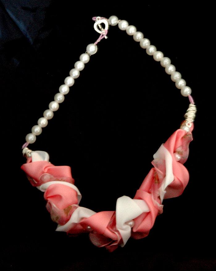 Collana Perl Rosa
