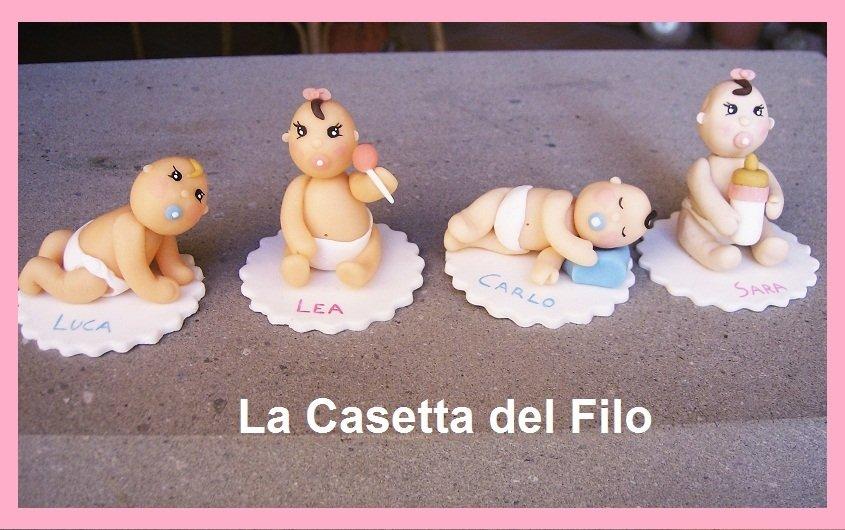 Favoloso Bomboniere Battesimo/Nascita in pasta di mais - Donna - Accessori  YR71