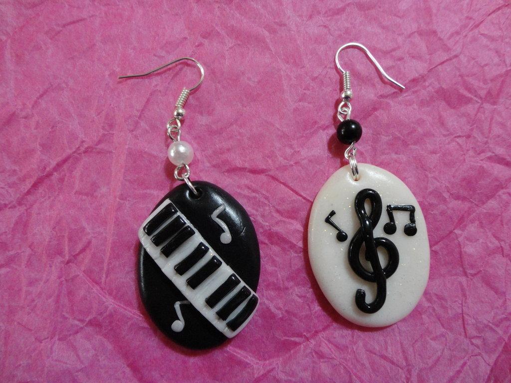 orecchini musica