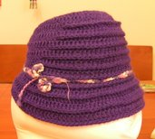 Cappello Viola - Violet Hat
