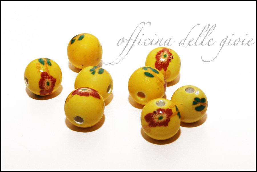 Perle ceramica cinese
