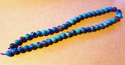 Filo agata blu 48 pezzi