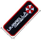 TOPPA/IRON PATCH Resident Evil Umbrella Logo 3 PATCH RICAMATI
