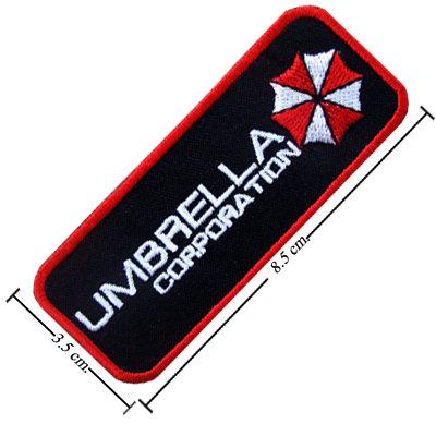 TOPPA/IRON PATCH Resident Evil Umbrella Logo 3 PATCH RICAMATI