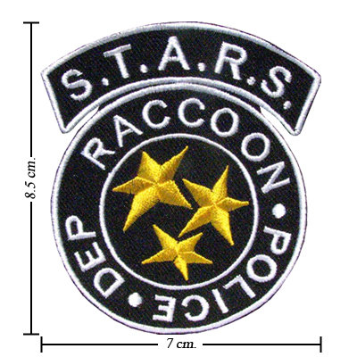 TOPPA/IRON PATCH Resident Evil Umbrella Logo 4 PATCH RICAMATI