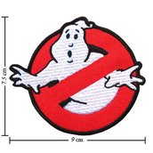 TOPPA/IRON PATCH Ghost Busters PATCH RICAMATI