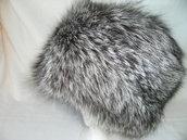 Cappello di volpe argentata