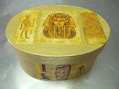 Caja motivos egipcios