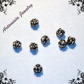 Perle di metallo