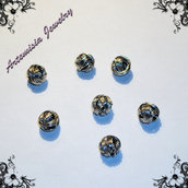 Perle metallo nodo grande