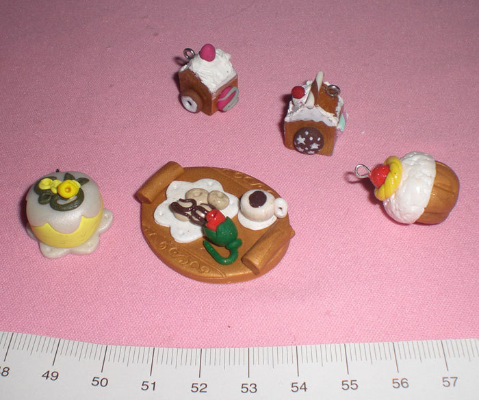 miniature in fimo