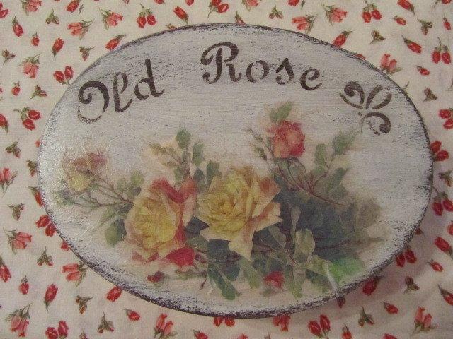 Scatola Shabby con rose