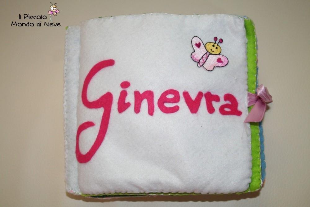 Libro di Stoffa per Bambini Personalizzato - Cloth book for Child