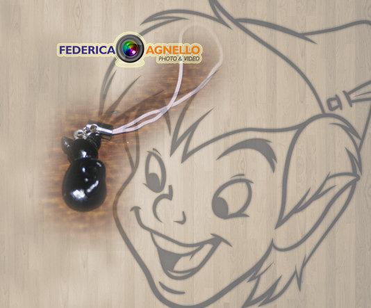 Phonestrap gatto nero FIMO