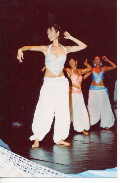 Pantaloni danze orientali donna