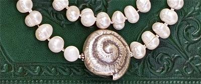 Sea Heart Chanel Necklace