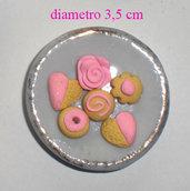 miniatura piatto biscotti