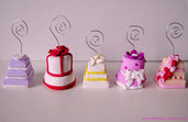Mini Wedding Cake - Segnaposto