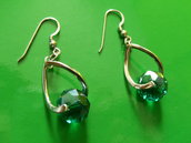 Orecchini in argento 925-