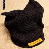 """Cappello black """"PuntoVirgola"""""""