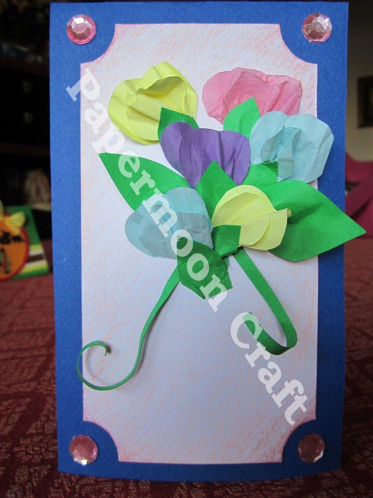 Biglietto Bouquet Fiori