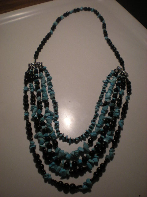 turchese, collana venduta