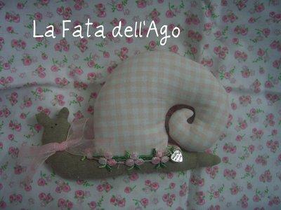 Bomboniera Lumachina Tilda