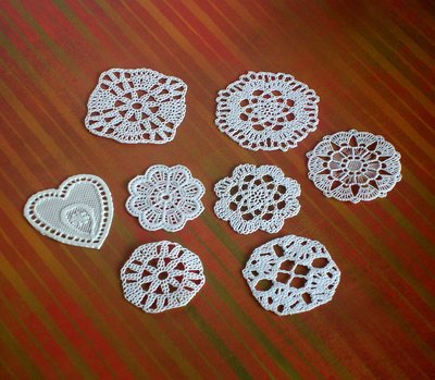 SET 8 pcs DOILY - CENTRINI - SUPPLY