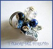 Anello Farfalla Perle lucite charm primavera 2012