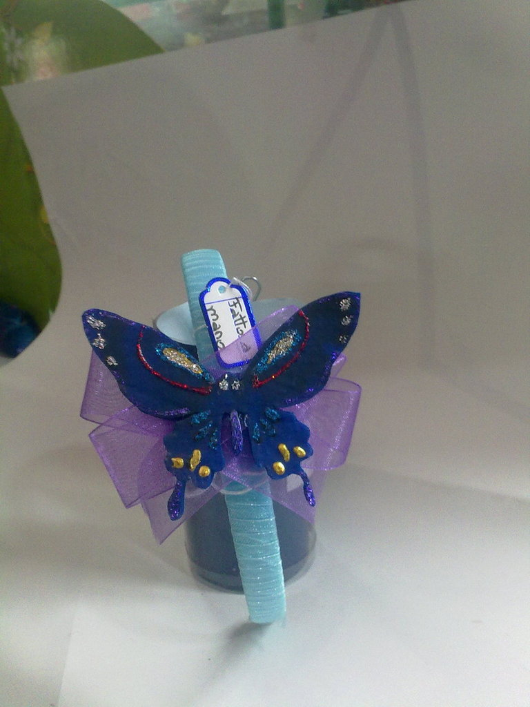 cerchietto farfalla