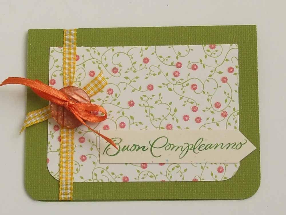"""Piccola card """"Buon Compleanno"""""""