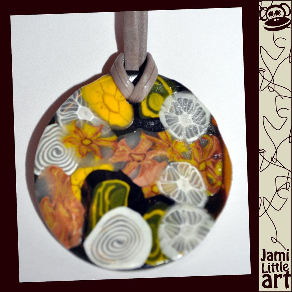 Art_0017_Collana Fimo con millefiori (cerchio)
