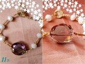 bracciale pietre oro