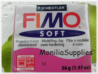 offerta!!!!PANETTO FIMO SOFT STAEDTLER PORPORA 56 GR POLYMER CLAY