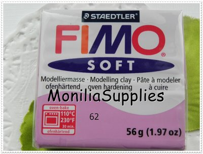 offerta!!!!PANETTO FIMO SOFT STAEDTLER LAVANDA 56 GR POLYMER CLAY