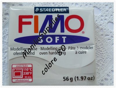 offerta!!!!PANETTO FIMO SOFT STAEDTLER GRIGIO 56 GR POLYMER CLAY